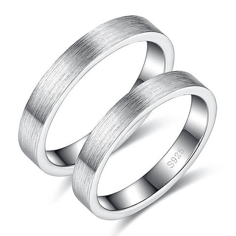 Silver Rings for Couples