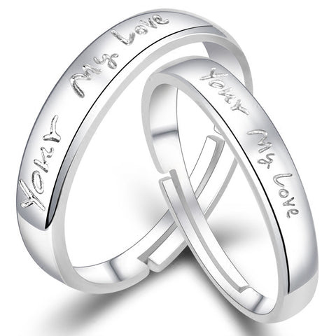 YOUR MY LOVE Couple Promise Rings