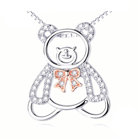 Cute Bear Pendant Necklace