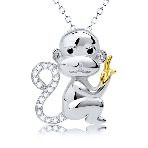 Monkey Banana Necklace