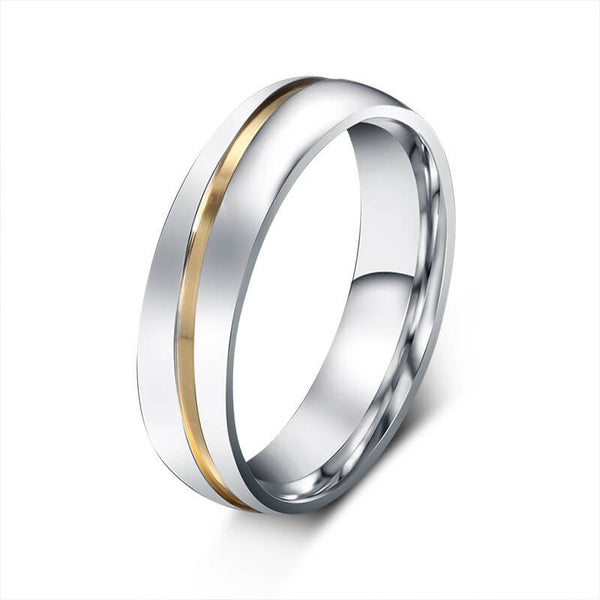 Gold Couple Promise Bands