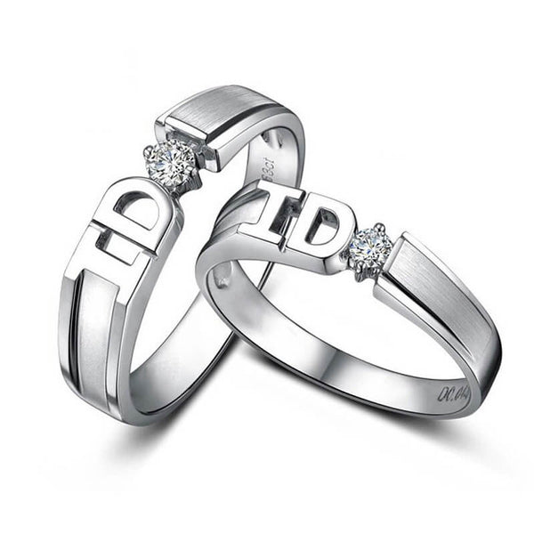 I DO Couple Promise Rings