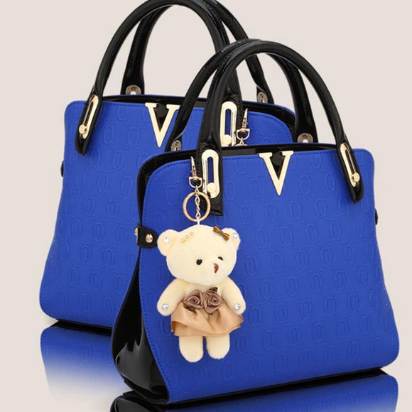 Luxury Plush Bear Tote
