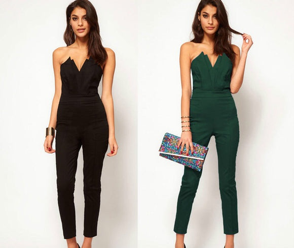 V-Top Jumpsuit