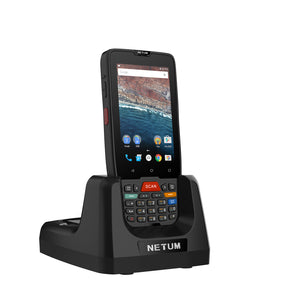 NETUM Portable PDA Android Termina PDA-D7100 Handheld 2D Barcode Scanner Touch Screen Android Terminal Device with WIFI 4G GPS