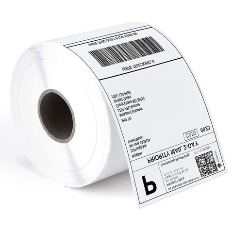"NETUM Thermal Direct Shipping Label with Self Adhesive (Pack of 500 4"" x 6"" Per Roll Labels)"