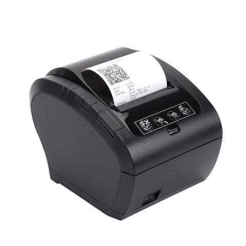 NT-306 80mm Thermal Receipt Printer with Auto Cutter Ethernet LAN Port Support Cash Drawer ESC/POS