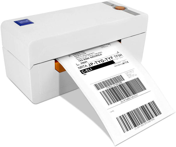 NETUM NT-LP110A Desktop Label Printer, High Speed Direct Thermal Label Printer 4x6 Label Maker Writer Machine, Barcode Printer, Compatible with Ebay, Amazon, USPS, Etsy, Shopify