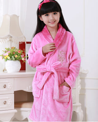 Hot Sale Children\'s Bathrobes Spring 2018 Cotton Dressing Gown Kids ...