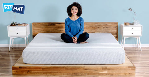 Fitmat memory foam mattress