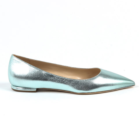 Andrew Charles New York By Andy Hilfiger Womens Ballerina Light Blue BALTIMORE