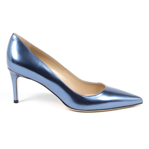 Andrew Charles New York By Andy Hilfiger Womens Pump Blue HOUSTON