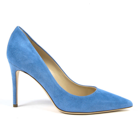 Andrew Charles New York By Andy Hilfiger Womens Pump Blue MEMPHIS