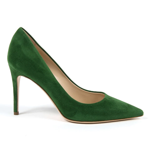Andrew Charles New York By Andy Hilfiger Womens Pump Green MEMPHIS