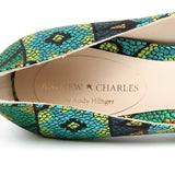 Andrew Charles New York By Andy Hilfiger Womens Pump Multicolor AUSTIN