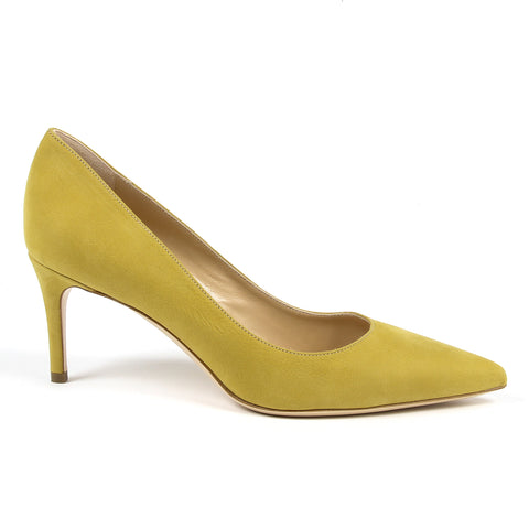 Andrew Charles New York By Andy Hilfiger Womens Pump Yellow HOUSTON