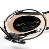 Andrew Charles New York By Andy Hilfiger Womens Sandal Black NASHVILLE