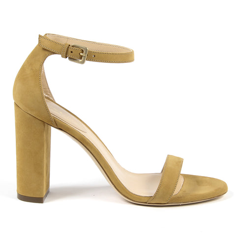 Andrew Charles New York By Andy Hilfiger Womens Sandal Yellow DOVER