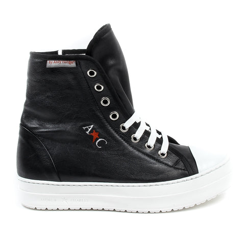 Andrew Charles New York Mens High Sneaker
