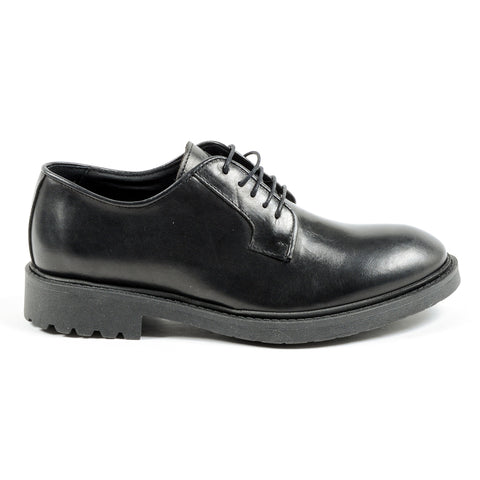 Andrew Charles New York Mens Lace Up Shoe Black JIMI
