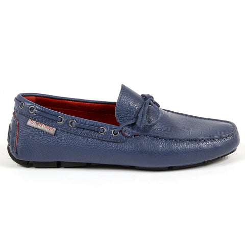 Andrew Charles New York Mens Loafer Blue STEVE