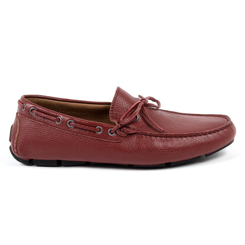 Andrew Charles New York Mens Loafer Dark Red STEVE