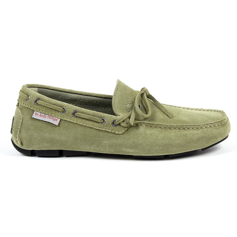 Andrew Charles New York Mens Loafer Green STEVE