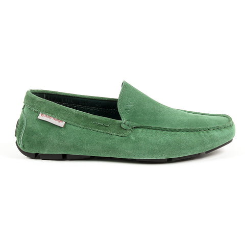Andrew Charles New York Mens Loafer Green TRON