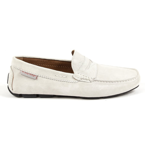 Andrew Charles New York Mens Loafer Light Grey JACKSON