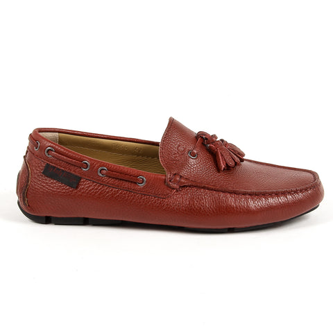 Andrew Charles New York Mens Loafer Red JEREMY