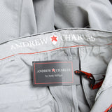 Andrew Charles New York Mens Pants Light Grey AMARA