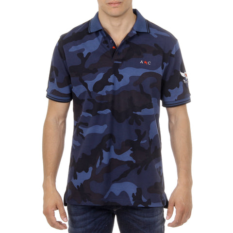 Andrew Charles New York Mens Polo Short Sleeves Multicolor STEVE