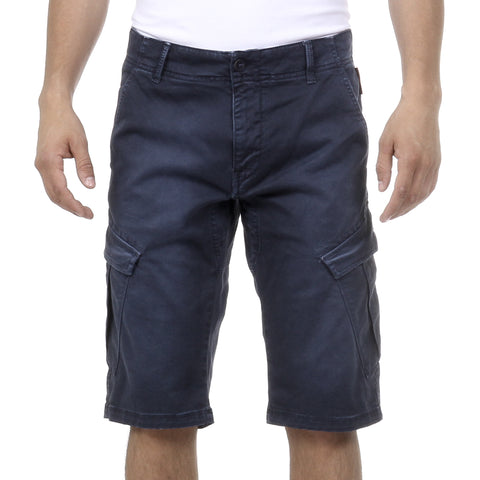 Andrew Charles New York Mens Shorts Blue JAKO