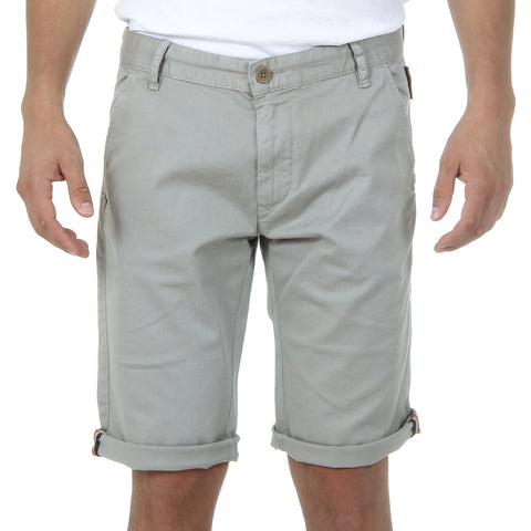 Andrew Charles New York Mens Shorts Light Grey SADECK