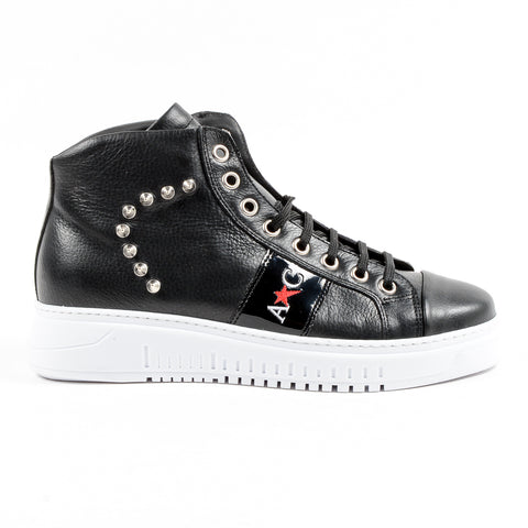 Andrew Charles New York Mens Sneaker Black ED