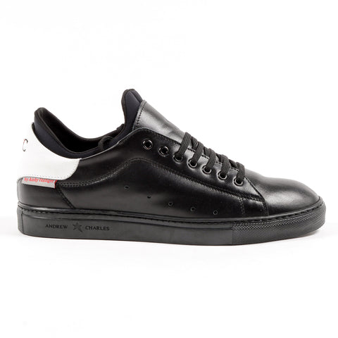 Andrew Charles New York Mens Sneaker Black KANIE