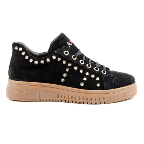 Andrew Charles New York Mens Sneaker Black LIL
