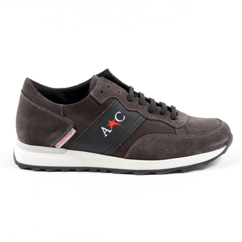 Andrew Charles New York Mens Sneaker Dark Grey LENNY