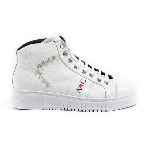 Andrew Charles New York Mens Sneaker White ED