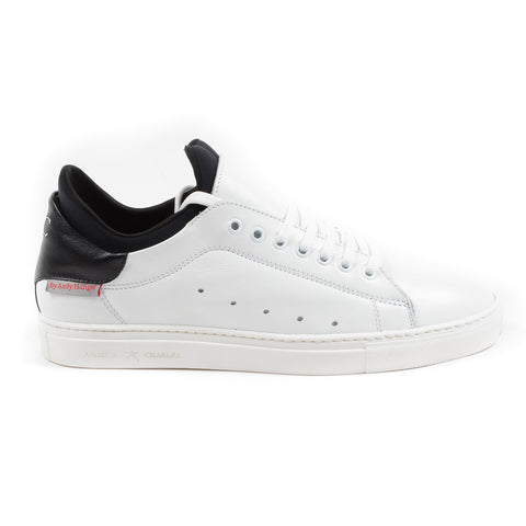 Andrew Charles New York Mens Sneaker White KANIE