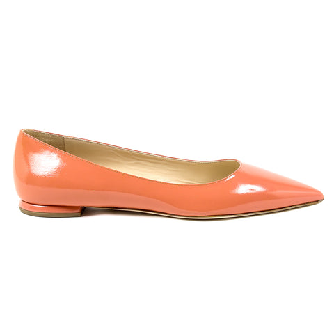 Andrew Charles New York Womens Ballerina Coral SONIA