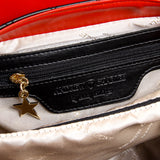 Andrew Charles New York Womens Handbag Black DOMINIQUE