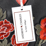 Andrew Charles New York Womens Handbag Black INDIA