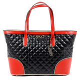 Andrew Charles New York Womens Handbag Black LILLI