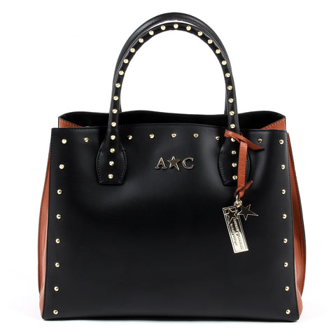 Andrew Charles New York Womens Handbag Black NELLY