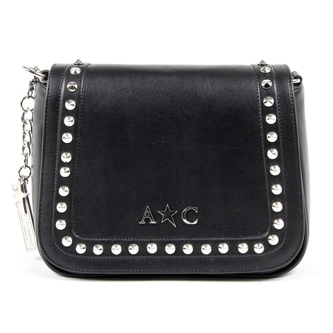 Andrew Charles New York Womens Handbag Black SKYLA