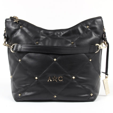 Andrew Charles New York Womens Handbag Black TESS
