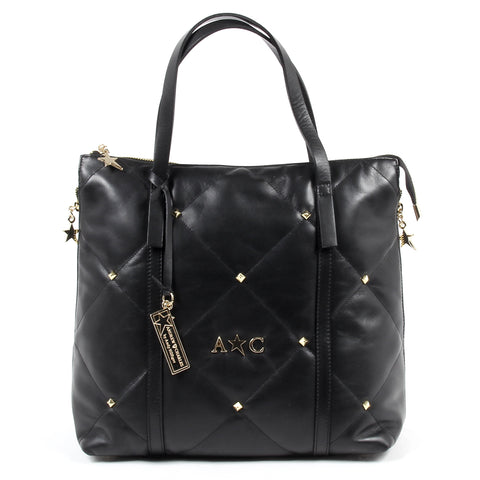 Andrew Charles New York Womens Handbag Black YAZMIN