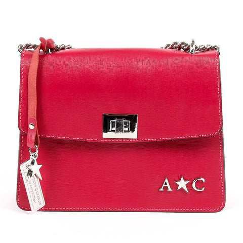 Andrew Charles New York Womens Handbag Fuxia MELODY