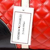 Andrew Charles New York Womens Handbag Red ABBIE